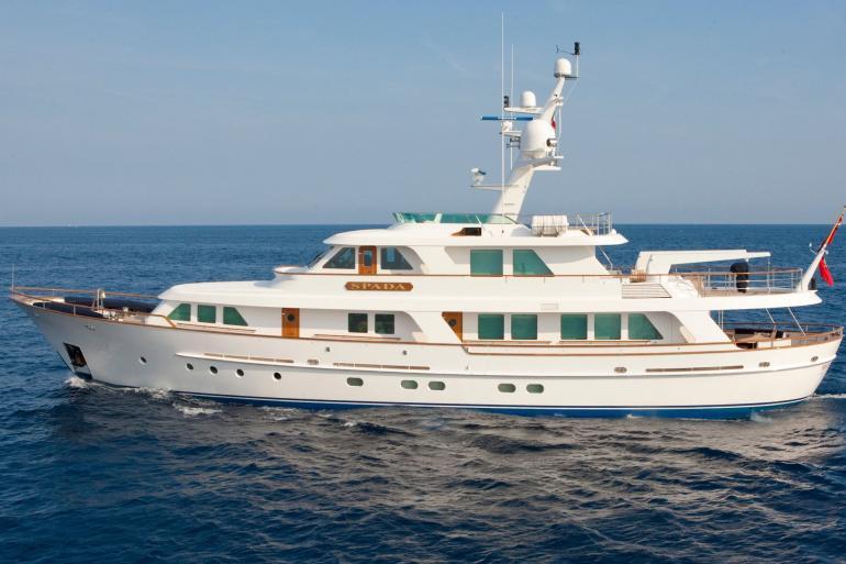 SPADA motor yacht sold