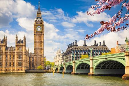 The River Thames, London